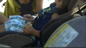 Asientos de seguridad infantil usados