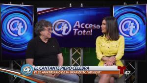 "Cantante Piero celebra 50 años de ""Mi Viejo"""
