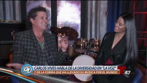 """Carlos Vives nos cuenta su experiencia en """"La Voz"""""""