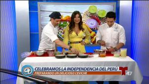 Celebramos la independencia de Perú con mucho sabor