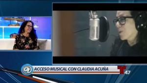 Claudia Acuña nos deleita a ritmo de jazz