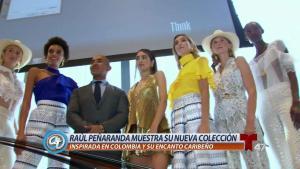 Colombiano conquista la Semana de la Moda en NY