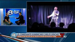 Comediante dominicano con importante función en NY