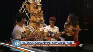 "Conoce el ""International Puppet Fringe Festival"""