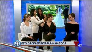 Conoce los peinados ideales para bodas