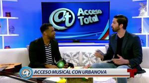 Cristian Allexis presenta nuevo disco de Urbanova