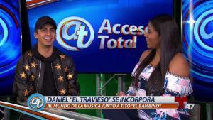 """Daniel """"El Travieso"""" integra el mundo de la música"""