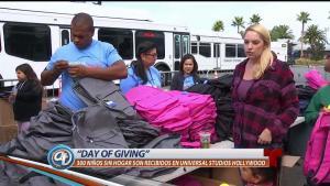 Día de dar en Universal Studios Hollywood