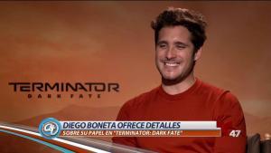 """Diego Boneta habla de su rol en """"Terminator: Dark Fate"""""""