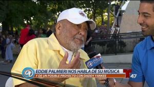 Eddie Palmieri brilla en Summer Stage