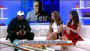 El Micha estrena tema con Gilberto Santa Rosa