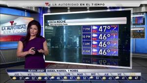 El pronóstico con Andrea Romero para el 21 de noviembre.