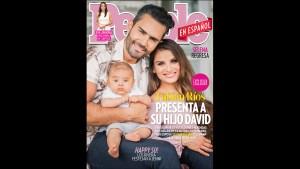 Fabián Ríos y Yuly Ferreira presentan a su bebé