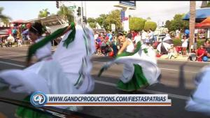 Fiestas patrias en Santa Ana