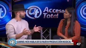 Gabriel promociona su nuevo album de merengue