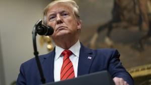 Trump pierde batalla sobre declaración de sus impuestos