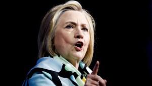 """Hillary Clinton: """"Me gustaría ser presidenta"""""""