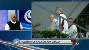 Jon Carlo habla de su espiritualidad y sus canciones