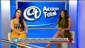 """La bella Victoria """"La Mala"""" habla de su tour con Romeo"""