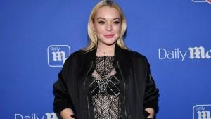 Lindsay Lohan es agredida en Rusia por refugiados