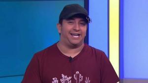 Mario Aguilar de visita en Acceso Total
