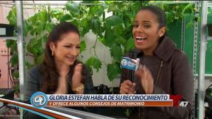 Misión especial de Gloria Estefan en escuela de NY
