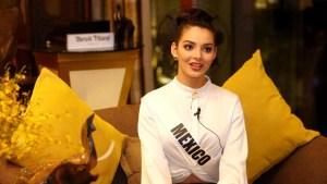Miss México revela que su pasión no está en la pasarela