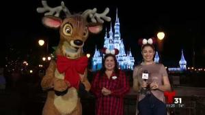 Comienza la navidad en Walt Disney World