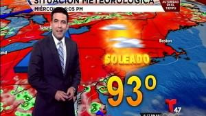El pronóstico del tiempo con el meteorólogo Pedro Montoro