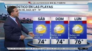 Joseph Martínez trae el pronóstico del tiempo para el fin de semana.