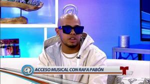Rafa Pabón presenta nueva fusión musical