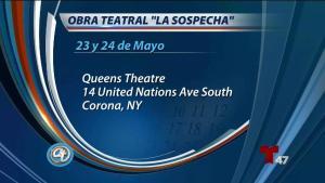 "Revelan detalles sobre la obra teatral ""La Sospecha"""