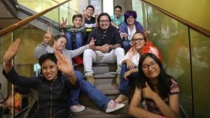 Jóvenes con discapacidad forman banda de rock