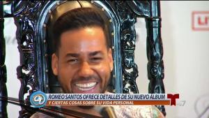 Romeo: somos culpables de sus temas de infidelidad