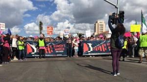 San Diego se une a la segunda Marcha Anual de Mujeres
