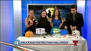 Sabrosos postres para deleitar este Halloween