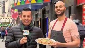 """""""Chef Papi"""" devela secretos de su pizza dominicana"""