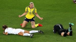 Suecia supera a Canadá y llega los cuartos del Mundial Femenino
