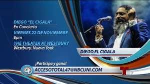 Diego El Cigala en concierto en Nueva York<br />