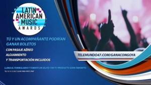 Goya te lleva VIP a los Latin American Music Awards