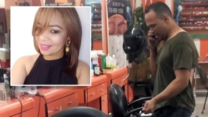 Dominicana apuñalada en salón: esposo recibe cargos