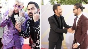 """Billetes en mano, llegaron los """"millonarios"""" a los Premios Billboard"""