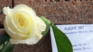 Recuerdan a las víctimas del vuelo 587 en Nueva York