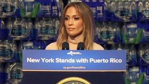 Jennifer López donará un millón para Puerto Rico