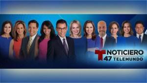 En vivo ahora: Noticiero Telemundo 47 Primera Edición 5-7:00 a.m.