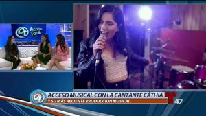 Talentosa cantante latina se abre paso hacia el éxito