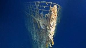 """Exploradores revelan nuevas imágenes de los restos del """"Titanic"""""""