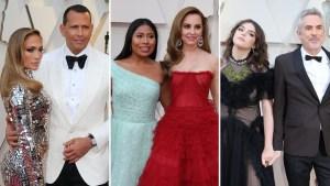 Hispanos brillan temprano en la alfombra roja de los Oscar