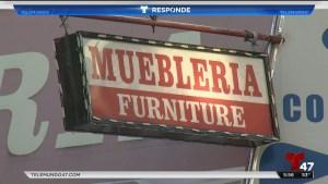 Ciudad demanda a mueblerías