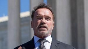Schwarzenegger reaparece con un fuerte mensaje